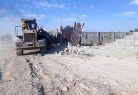 تخریب 139 مورد ساخت وساز غیر مجاز در شهرستان رباط کریم