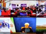 افتتاح ۵۸۵ طرح ملی وزارت جهاد کشاورزی در سراسر کشور