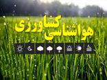 جدیدترین توصیه های هواشناسی کشاورزی به کشاورزان استان تهران اعلام شد
