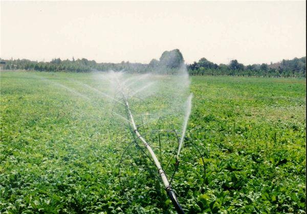 تجهیز  2300 هکتار اراضی کشاورزی به سامانه آبیاری