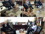 بازدید رییس سازمان جهاد کشاورزی استان قزوین از مدیریت جهاد کشاورزی شهرستان تاکستان