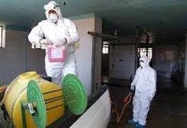 مراکز عرضه و تولید مواد لبنی و کشتارگاهها در استان سمنان ضدعفونی شد