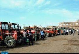 5020 دستگاه ادوات کشاورزی خراسان شمالی پلاک گذاری شد