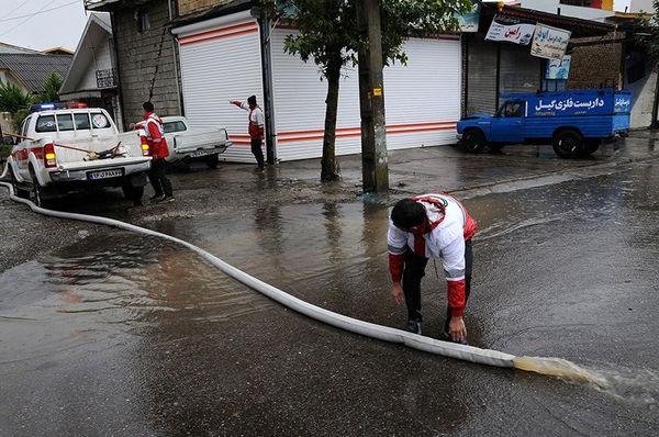 ۱۳ استان کشور درگیر سیل و آبگرفتگی شدند