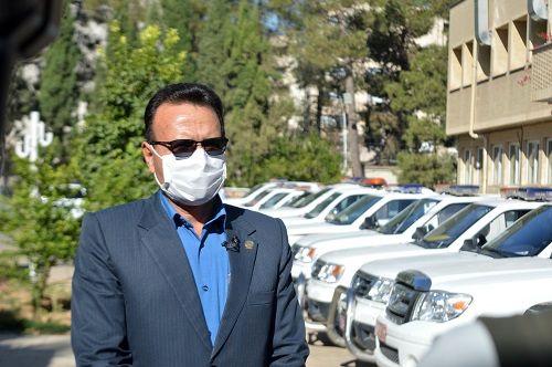 مانور بزرگ مشترک گشت حفظ کاربری اراضی کشاورزی در شیراز آغاز شد