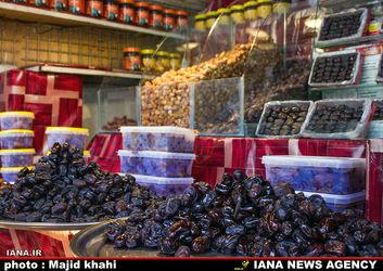 بازار خرما در تهران