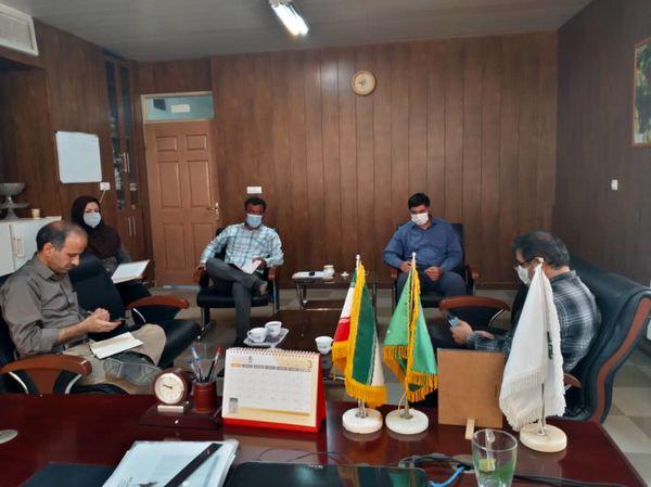 نشست هماهنگی تولید محصول سالم کشمش در شهرستان تاکستان برگزار شد