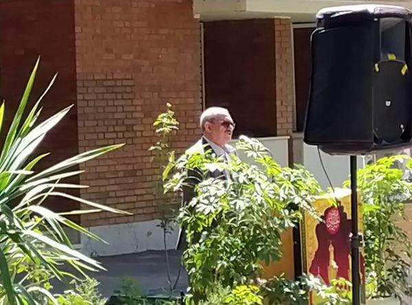 برگزاری مراسم یادبود همکاران درگذشته معاونت آب وخاک درکرج