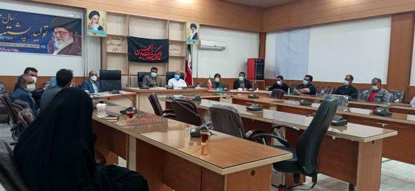 برگزاری نشست هماهنگی تعیین نرخ قیمت انگور در شهرستان کیار