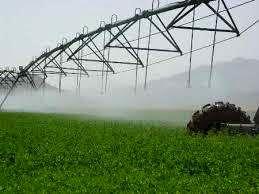 120 هکتار از اراضی کشاورزی گلوگاه به سیستم نوین آبیاری تجهیز شد