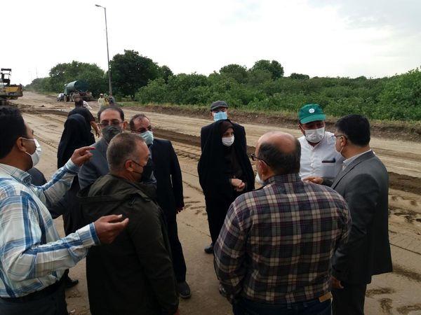 بازدید رییس سازمان جهاد کشاورزی استان قزوین از باغستان سنتی