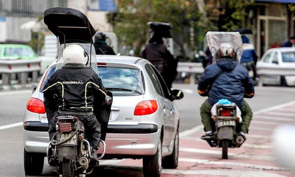 شمارهگذاری ۱۰ هزار موتورسیکلت کاربراتوری آلاینده