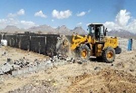 13 هزار مترمربع از اراضی ملی دماوند رفع تصرف شد
