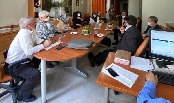 بازدید مسئولان روابط عمومی جهاد کشاورزی از یک مجموعه رسانهای کشاورزی