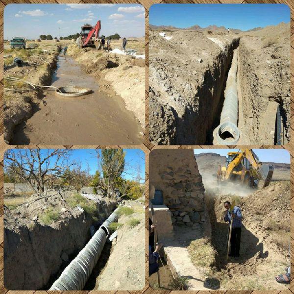 بازسازی ونوسازی 33 رشته قنات در شهرستان سربیشه