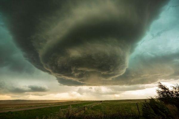 طوفان هولناک؛ عکس روز نشنالجئوگرافیک