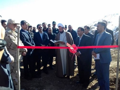 سدهای آبخیزداری روستاهای سعد و زاویه علیای چالدران به بهره برداری رسید