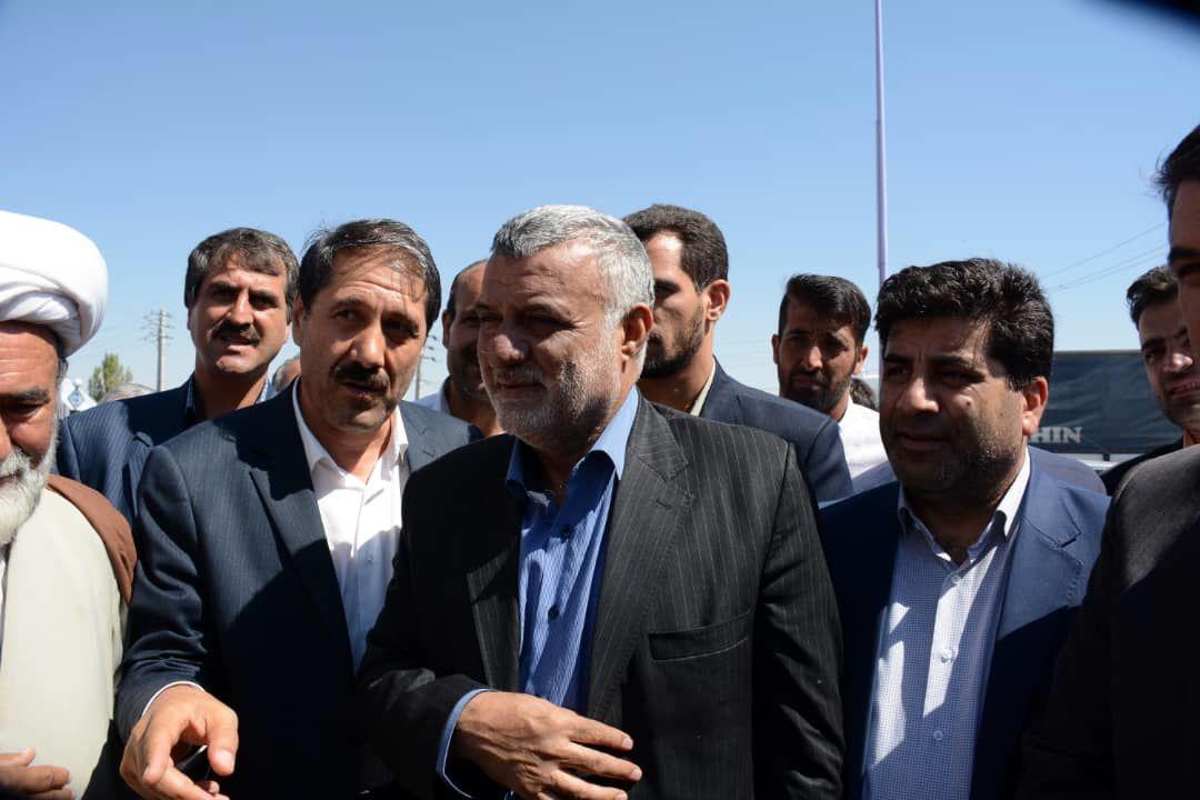 بازدید و افتتاح پروژه های بخش کشاورزی در سفر وزیر جهاد کشاورزی به آذربایجان شرقی