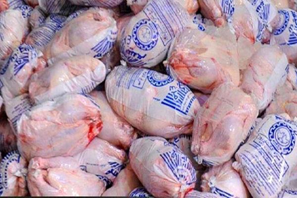 ۹۰۰ تن گوشت مرغ منجمد در کردستان توزیع شد