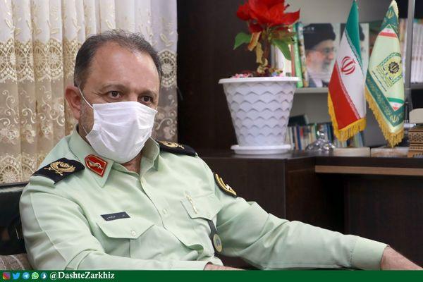 نیروی انتظامی قزوین مقتدرانه مقابل متخلفان حوزه گندم ایستاده است