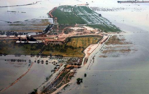 هشدار  در مورد احتمال وقوع سیل و طغیان رودخانهها