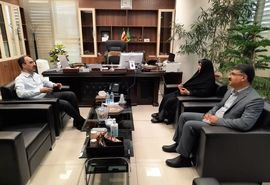دیدار رییس سازمان جهاد کشاورزی استان قزوین با معاون توسعه بازرگانی وزارت جهاد کشاورزی
