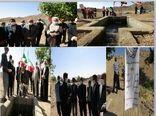 بهرهبرداری از پروژه انتقال آب روستای نوده شهرستان زیرکوه