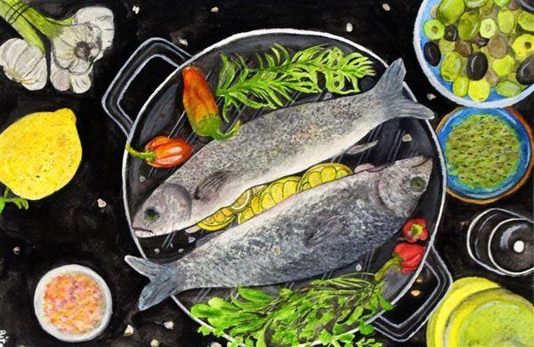 نفرات برگزیده مسابقه نقاشی ماهی غذای سلامت مشخص شد