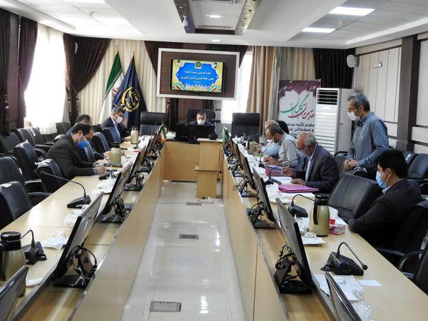 چهارمین جلسه کمیسیون تبصره 1 ماده 1 سازمان جهاد کشاورزی خراسان شمالی برگزار شد