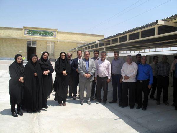 گشایش دومین مرکز خدمات جهادکشاورزی قیر و کارزین