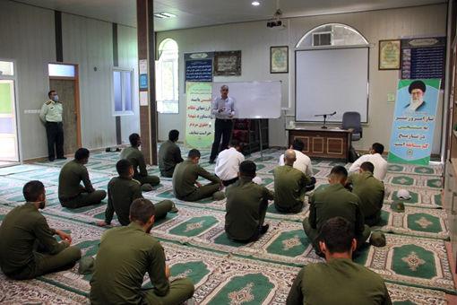 برگزاری دوره مهارتی پرورش گاو شیری ویژه کارکنان نیروی انتظامی شهرستان بناب