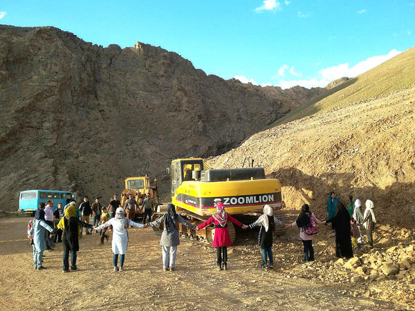 گردهمایی شاهرودی ها برای دفاع از آب و کوهستان