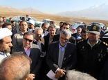 """بازدید وزیر جهاد کشاورزی از طرح شبکه آبیاری تحت فشار """"کلکله"""" در شهرستان ازنا"""