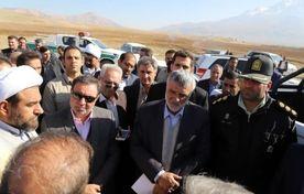 بازدید وزیر جهاد کشاورزی از طرح شبکه آبیاری تحت فشار