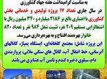 افتتاح ۱۷ پروژه تولیدی و خدماتی در هفته جهادکشاورزی در استان ایلام