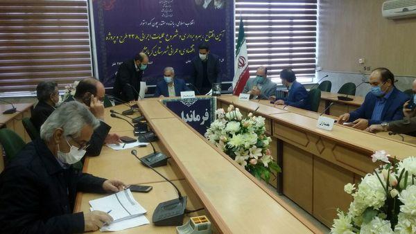 افتتاح 18 پروژه بخش کشاورزی شهرستان کرمانشاه با اعتباری بالغ بر 468 میلیارد و 425 میلیون ریال