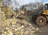 حکم تخریب دو مورد ساخت و ساز غیر مجاز در اراضی کشاورزی شهرستان قزوین