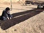عشایر خراسان شمالی بافت سیاه چادر را از سر گرفتند