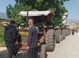 ۴۶ تراکتور در شهرستان سیروان پلاک گذاری شدند.