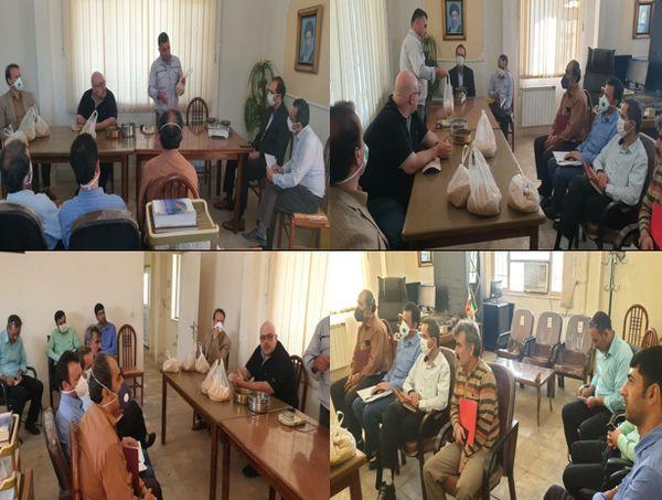 برگزاری اولین دوره آموزشی آزمایش و آنالیز گندم در سیلوی تاکستان