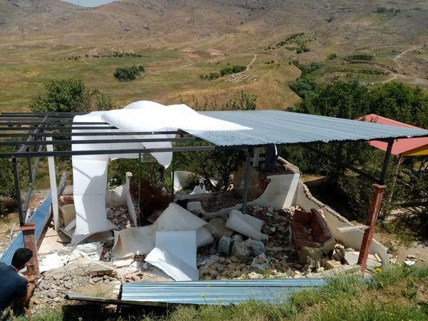 278 متر مربع از اراضی زراعی و باغی شهرستان آبیک رفع تصرف شد