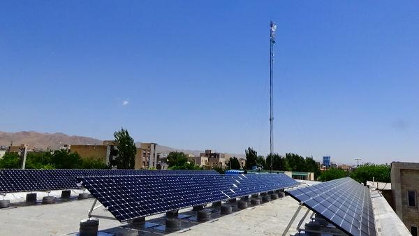 تولید 36 مگاوات برق خورشیدی توسط جهادکشاورزی زنجان
