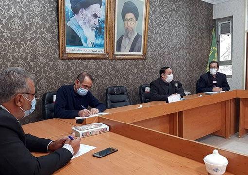 برگزاری جلسات کمیته آب در شهرستان عجب شیر