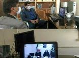 برگزاری جلسه ستاد هماهنگی سن گندم از طریق ویدیو کنفرانس در سازمان جهاد کشاورزی استان ایلام