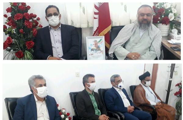 دیدار رئیس سازمان و جمعی از معاونین و مدیران جهاد کشاورزی  با امام جمعه شهرستان جیرفت