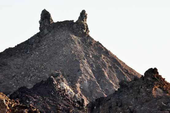 عملیات تخریب کوه رستم متوقف شد