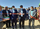 افتتاح پروژه ی تثبیت بستر رودخانه قاسم بولاغی در روستای اتی کندی شهرستان کلیبـر