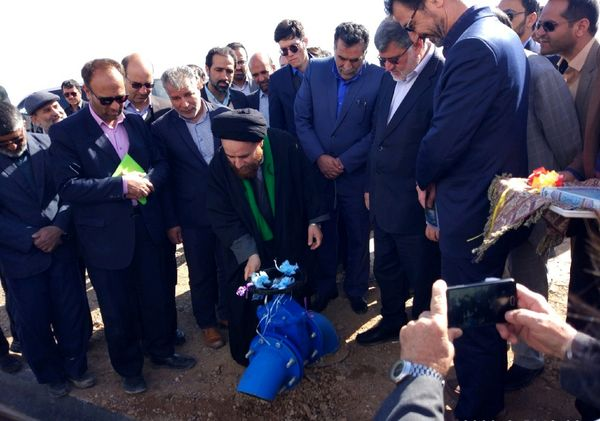 افتتاح همزمان 19 پروژه اشتغالزایی و تسهیلاتی حوزه کشاورزی شهرستان طبس