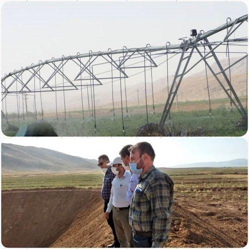 جهاد کشاورزی اقلید در اجرای سامانههای نوین آبیاری مستقل شد