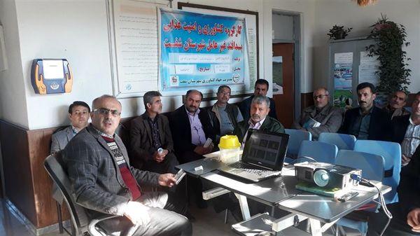 برگزاری کلاس آموزشی ترویجی پیشگیری از بیماری آنفلوآنزای فوق حادپرندگان در  املش